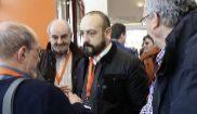 Jordi Cañas (centro), en la IV Asamblea General de Ciudadanos.