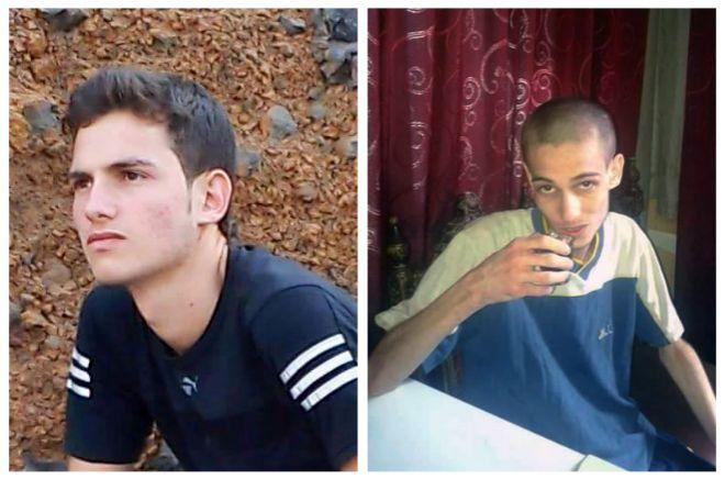 Uno de los presos de la cárcel de Saydnaya, antes y después de pasar por prisión.