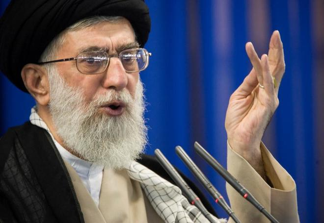 Resultado de imagen para Jamenei y trump