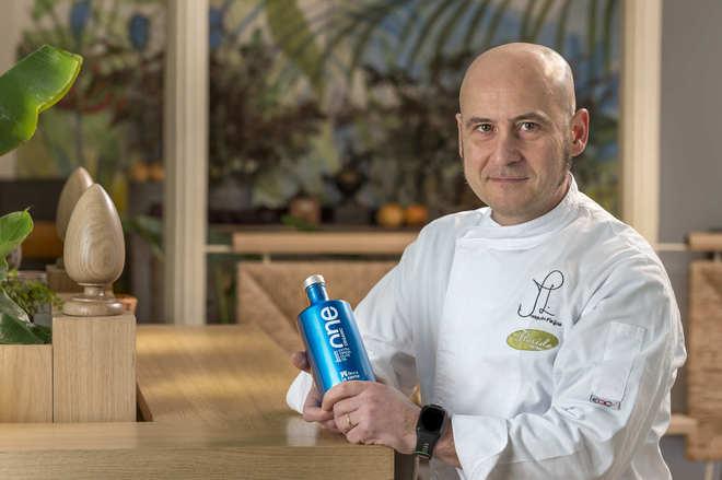 El cocinero Joaquín Felipe es un gran defensor del producto artesano...