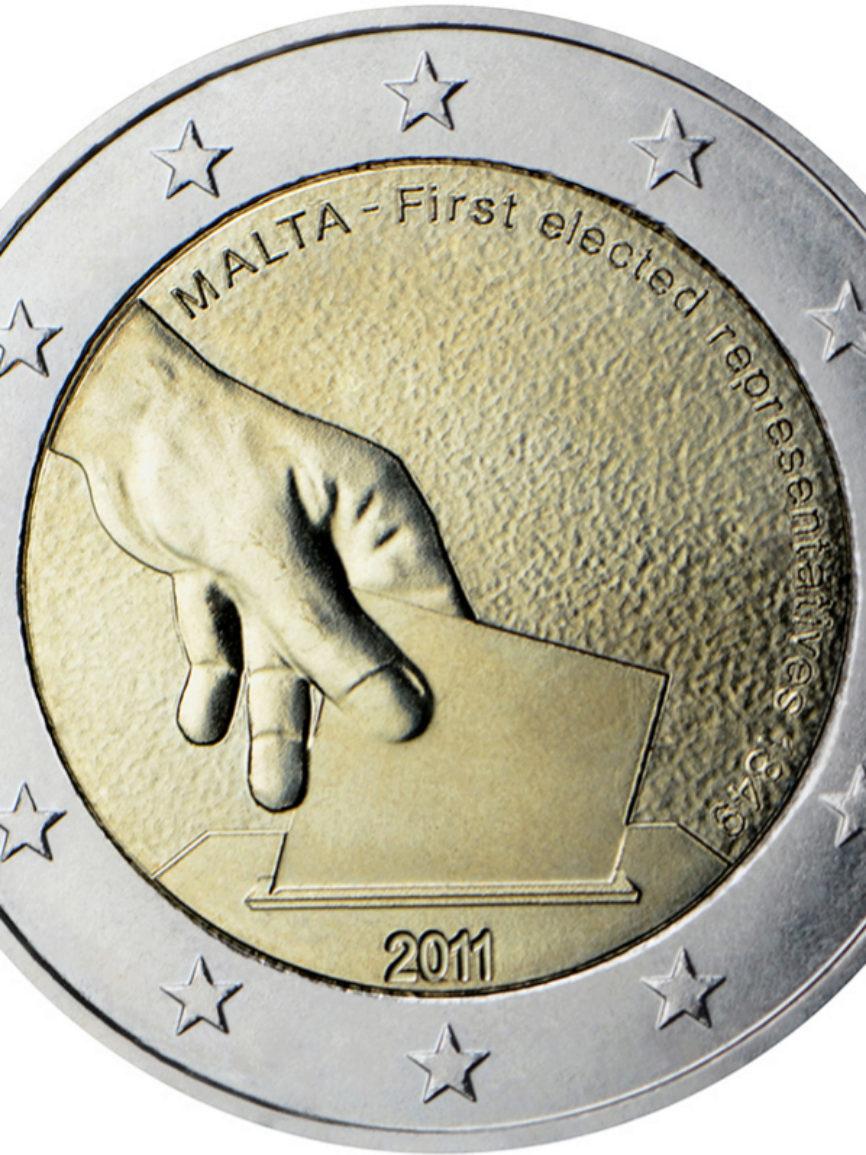 Malta (2011). Primeras elecciones en 1849