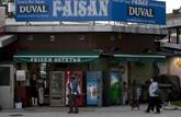 Fachada del bar El Faisán en Irún, donde tuvo lugar el presunto...