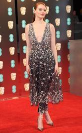 La actriz estadounidense opta al premio a mejor actriz protagonista...