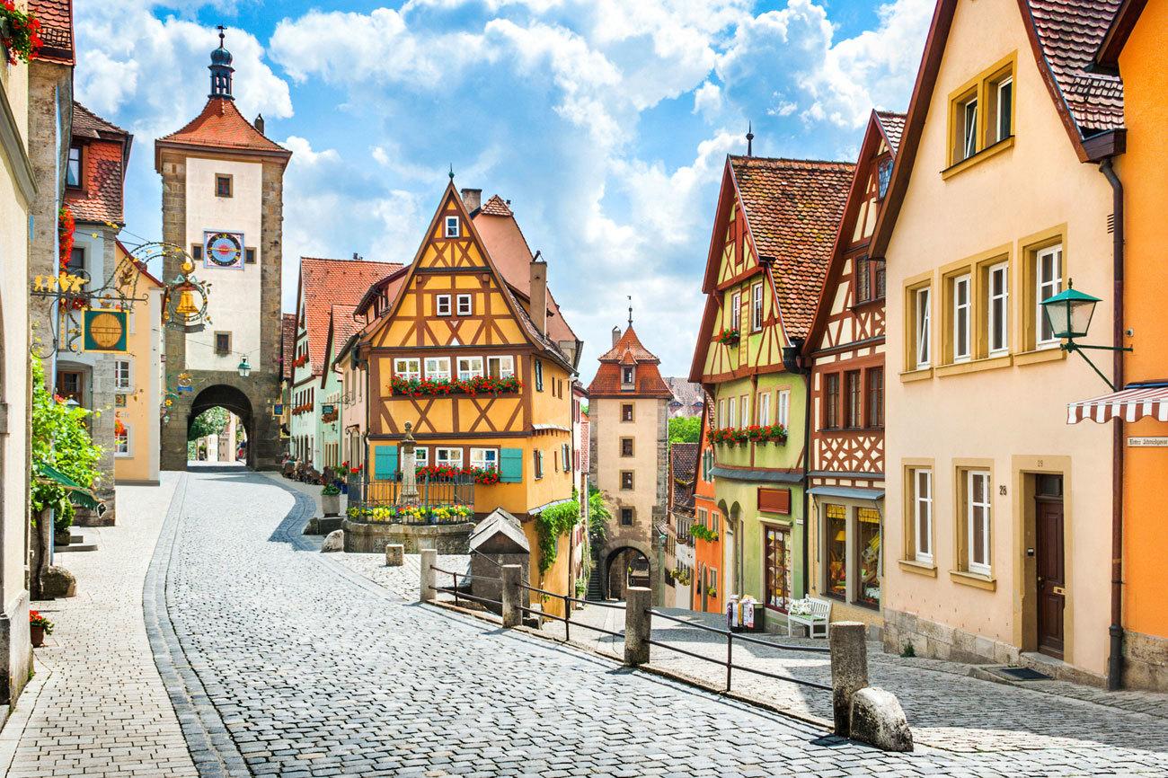 Descubre el sur de Alemania y sus espectaculares paisajes como la...