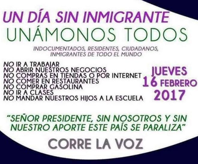 Restaurantes cerrados en Washington por el Día sin inmigrantes ...