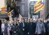 Artur Mas, Carles Puigdemont, Irene Rigau, Joana Ortega y Carme...