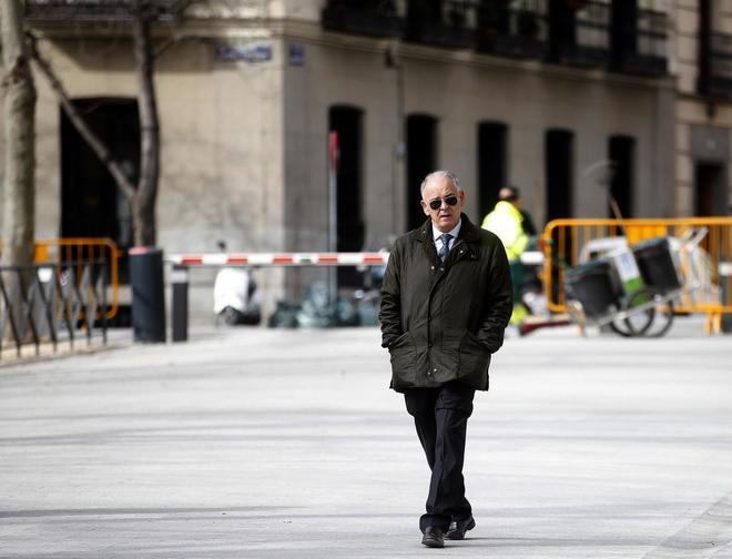 El ex director operativo de la Policía Nacional Eugenio Pino en las...