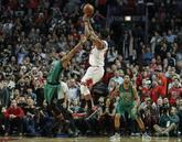 A falta de un segundo, los Bulls caían por un punto ante Boston....