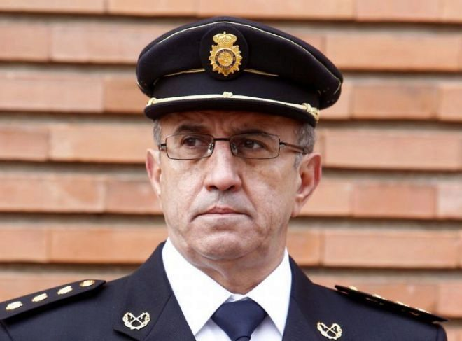 Florentino Villabona, director adjunto operativo de la Policía Nacional.
