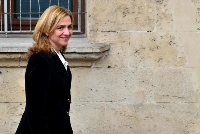 La Infanta Cristina acude a declarar a los Juzgados de Palma de...