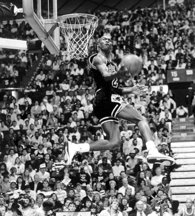 1987: El día que Michael Jordan se paró en el aire | Baloncesto | EL ...