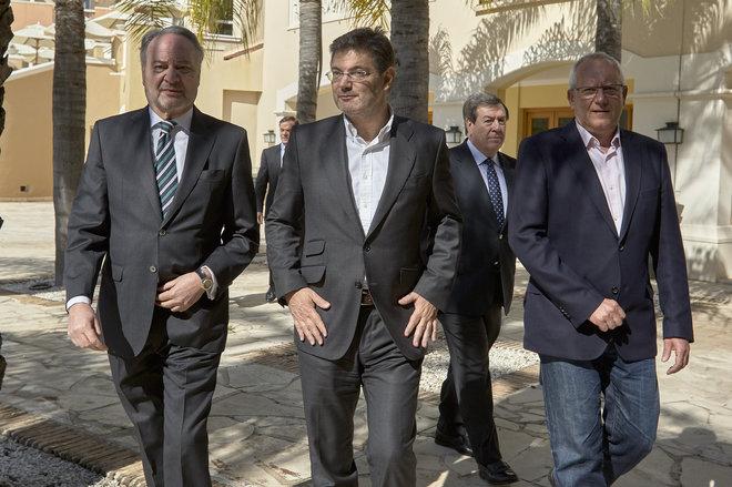 El ministro de Justicia, Rafael Catalá, clausura hoy las X Jornadas...