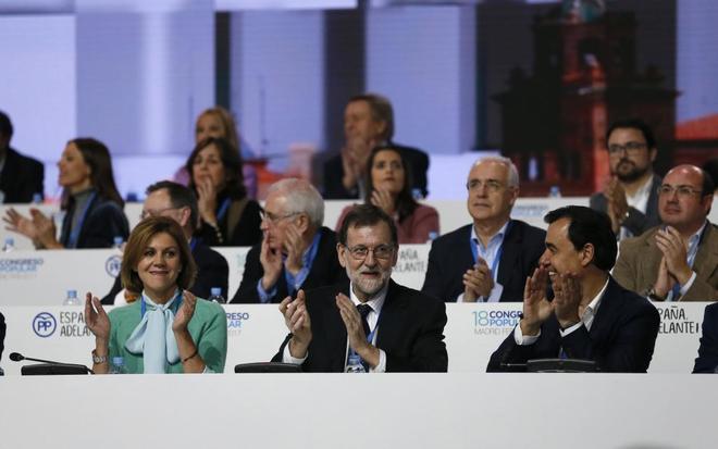 Congreso nacional del PP celebrado a principios de febrero en la Caja Mágica de Madrid