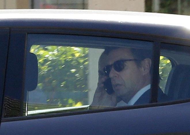 El ex ministro José Manuel Soria, el pasado día 7 tras declarar en los juzgados de Las Palmas.