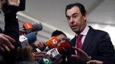 Fernando Martínez-Maillo, coordinador general del PP, a su llegada al...