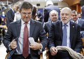 El ministro de Justicia, Rafael Catalá, y el fiscal general, José...