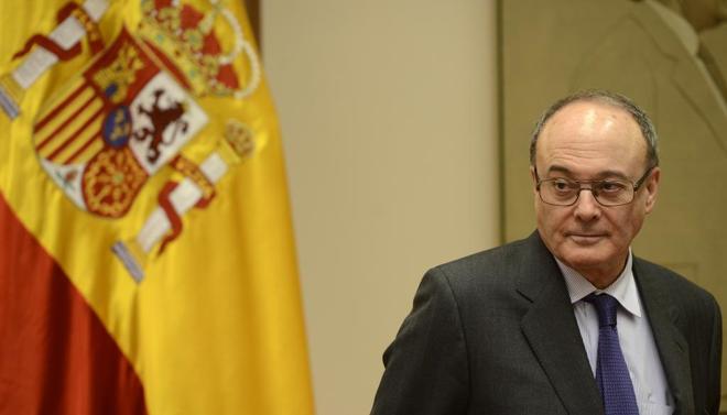 Luis María Linde, gobernador del Banco de España, en una comparecencia el pasado 15 de febrero