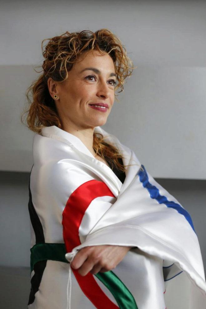 Carolina Pascual, Plata en Barcelona 92 en gimnasia rítmica.