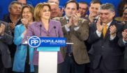 Cospedal preside la reunión del Comité de Dirección del PP en...