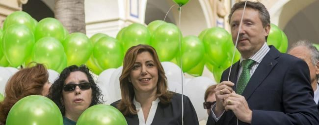 Afines a Susana Díaz y Patxi López preocupados por la capacidad de movilización de Pedro Sánchez