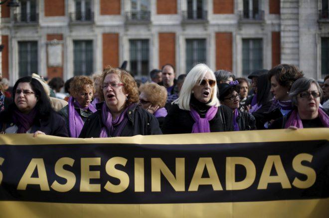 2017 comienza con la peor cifra de mujeres asesinadas por violencia machista desde 2008