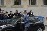 Iñaki Urdangarin llega a la Audiencia provincial entre gritos de...