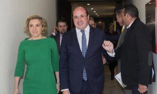 Pedro Antonio Sánchez, único candidato a líder del PP murciano