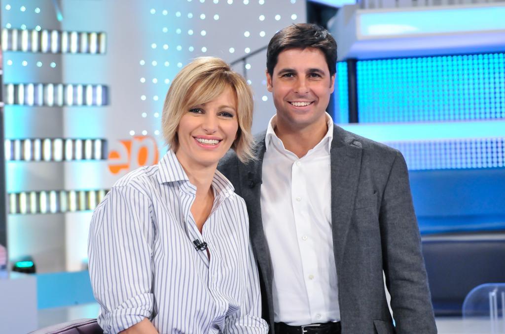 Susanna Griso y Fran Rivera, en el plató.