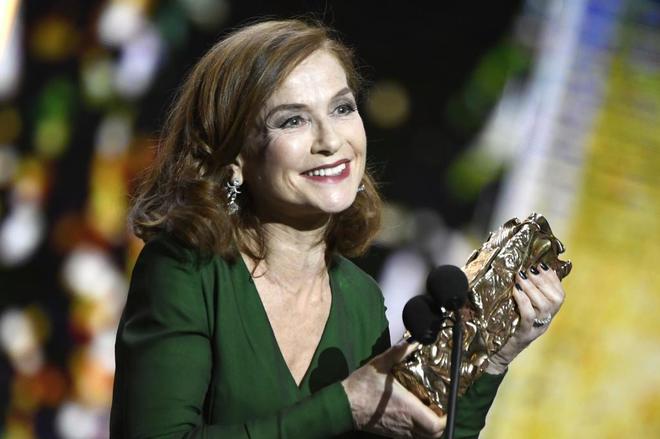 'Elle'  se consagra en los César franceses con una victoria pírrica