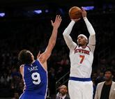 Carmelo Anthony dio la victoria a los Knicks con un lanzamiento en el...
