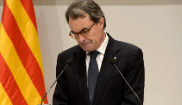 El ex presidente de la Generalitat, Artur Mas, comparece en rueda de...