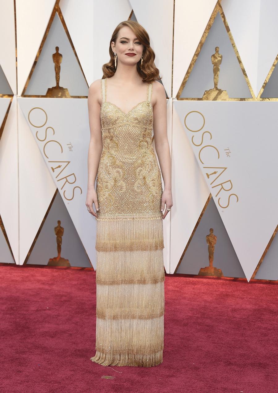 La protagonista de La La Land, que ganó el Oscar a la Mejor Actriz,...