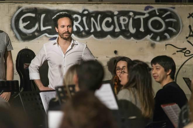 Juan Antonio Simarro, compositor de 'Sinfonía por un mundo...