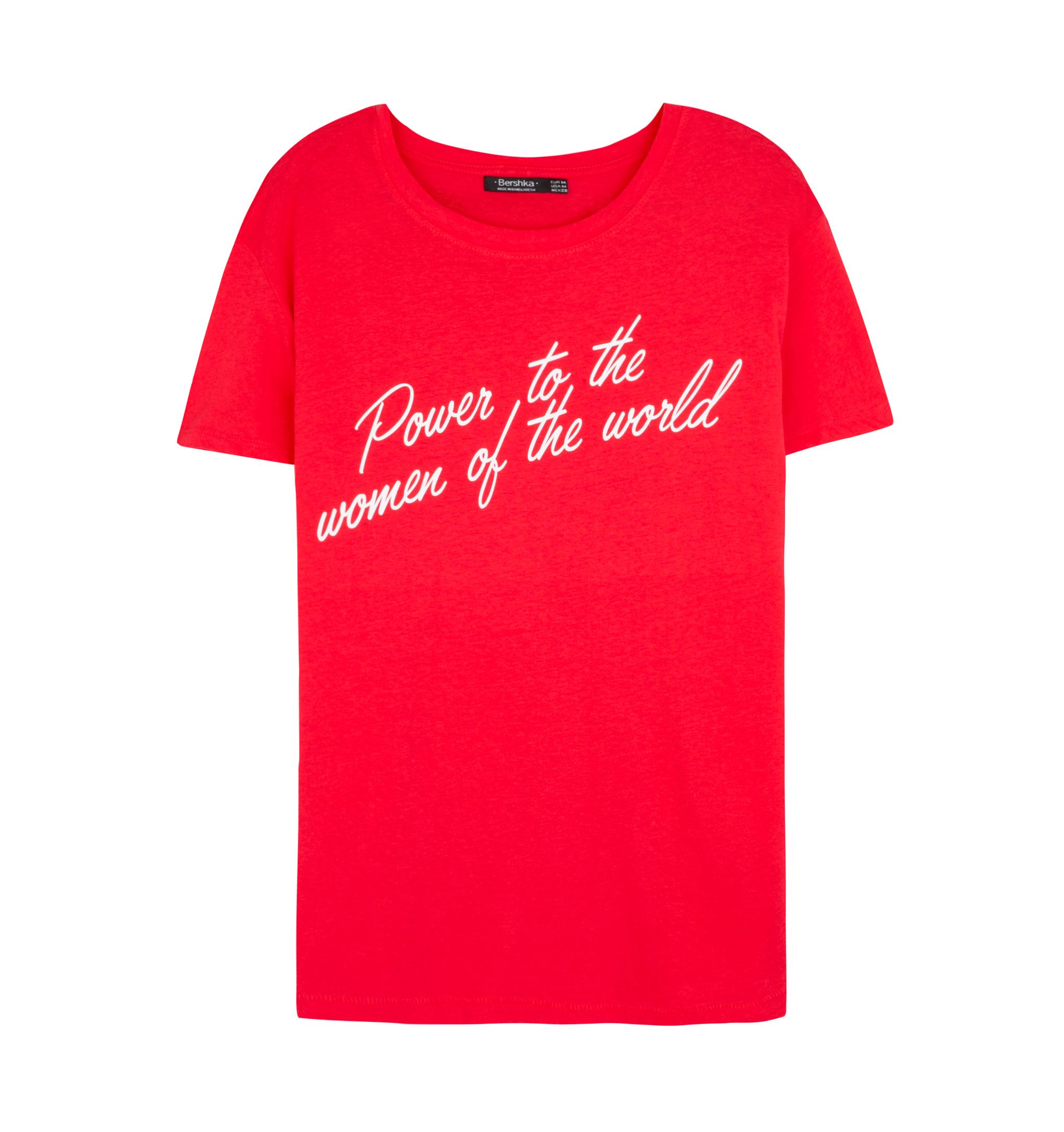 Camiseta de Bershka (4,99 euros).
