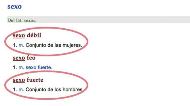 Lider Artesanato Pedreira ~ Día de la mujer'Sexo débil', la definición machista de la RAE que indigna a las redes sociales