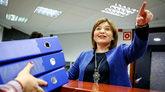 La presidenta del PP de la Comunidad Valenciana, Isabel Bonig,...