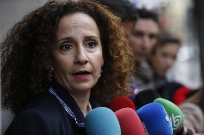 Pilar Lucio, portavoz de Energía del PSOE en el Congreso.
