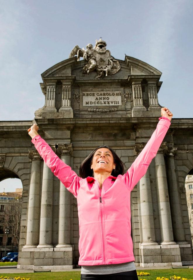 La maratoniana gallega, ante uno de los puntos más simbólicos del...