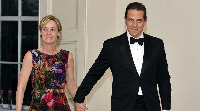 Hunter y su ex mujer, Kathleen, en una cena en la Casa Blanca en 2012.
