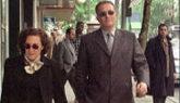 El abogado Pablo Vioque, padre del absuelto, a su llegada a la...