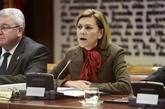 María Dolores de Cospedal, en la Comisión de Defensa del Senado.