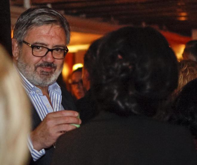 El ex secretario de las hijas del Rey emérito, Carlos García...
