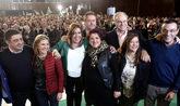 La presidenta de la Junta de Andalucía, en el acto celebrado hoy en...
