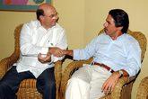 El ex presidente de la República Dominicana Hipólito Mejía y José...