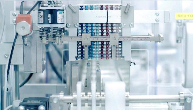 Detalle del proceso de fabricación de las cápsulas de Labo'Life.