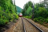 Elegido como uno de los mejores viajes en tren del mundo, podréis...