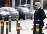 El ex presidente de Isolux, Luis Delso, tras declarar hoy como...