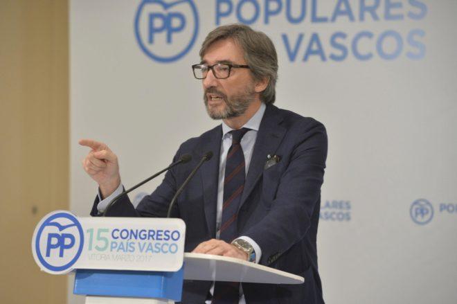 """Iñaki Oyarzábal: """"El PNV ya no defiende ni a las clases medias ni a las empresas"""""""