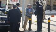 El ex tesorero del PP Rosendo Naseiro, a su llegada a la Audiencia...