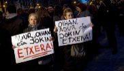 Concentración en Pamplona a favor de los acusados de la agresión a...